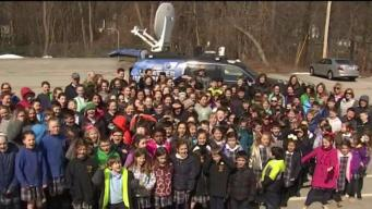 Weather Warrior Visits St. Francis Xavier School