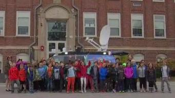 Weather Warrior Visits the Page School