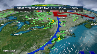 Warmer Temperatures and Scattered Showers Move Into Region