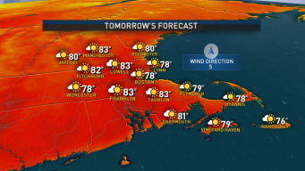 Mostly Sunny, Quiet Stretch of Weather Ahead