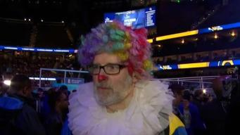 Weird and Wacky From Super Bowl Opening Night