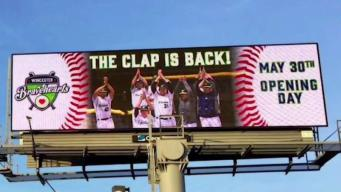 Worcester Bravehearts Draw Looks After Tweeting Photo of Billboard