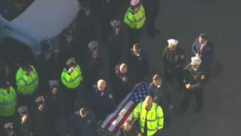 Funeral Preparations For Fallen Worcester Firefighter
