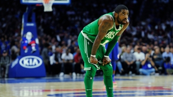 Kyrie Irving Fined for Outburst at 76ers Fan