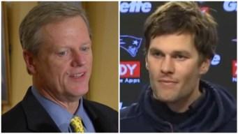 Governor 'Guarantees' Tom Brady Will Play on Sunday