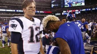 Odell Beckham Jr. Weighs in on Tom Brady's Sideline Spat