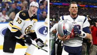 Brady as Bruins' Banner Captain Would Fuel Chara 'Bromance,' Krejci Says