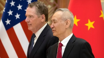 US, China Resume Trade Talks in Washington Ahead of Deadline