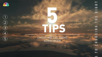 5 Tips: Choosing the Right Sunscreen