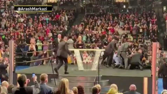 WWE Star Attacked During Ceremony