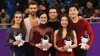 ICYMI: Shib Sibs Land on Ice Dancing Podium