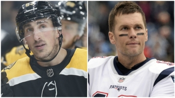 See Marchand's R-Rated Reaction to Brady's Instagram Comment About Bruins-Leafs Game 7