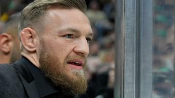 Watch Conor McGregor's Reaction to Bruins' Game-winning Goal