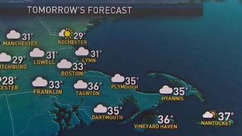 Cool, Calm Conditions Remain Before Threat of Wintry Mix