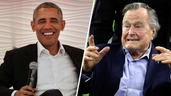 Obama, Bush in 'Competition' Over March Madness Brackets
