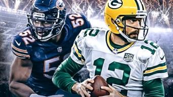 Football's Back! Watch Packers-Bears on NBC10 Boston Tonight