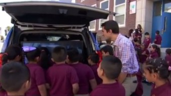 Weather Warrior Visits Patrick J Kennedy Elementary