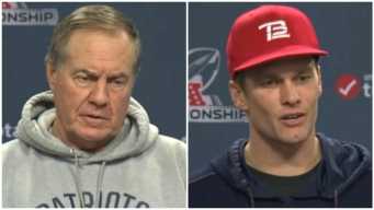 'Whatever It Is, It Is': Belichick, Brady Ready for the Cold