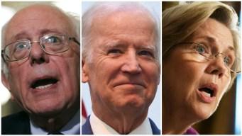 Sanders, Biden, Warren Lead Dems in 1st 2020 NH Primary Poll