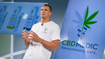 Gronk Grows CBD Business With Gillette, Patriot Place Partnership