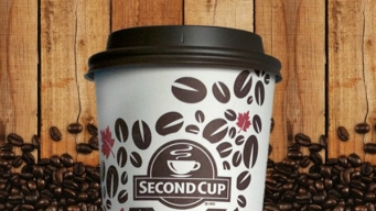 Second Cup Coffee Company Opens by North Station in Boston