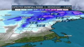 FIRST ALERT: Back-to-Back Bursts to Deliver Snow to Region
