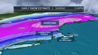 FIRST ALERT: Plowable Snow Sunday, Heavy Totals for Some