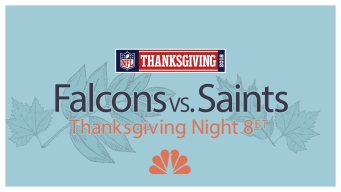 Thanksgiving Night Football: How to Watch Falcons-Saints