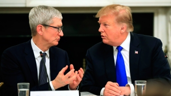 Trump Says He Called Apple's CEO 'Tim Apple' to Save Time