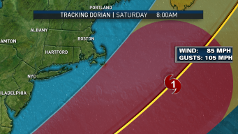 Hurricane Dorian Likely to Impact New England This Week