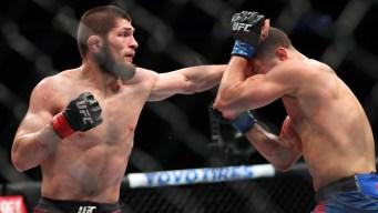 Move Aside, Conor: Nurmagomedov Takes UFC's 155-Pound Crown