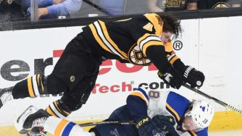 Blues Forward to Miss Game 2 After Krug Hit
