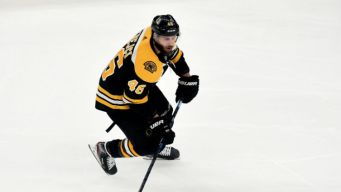 Krejci Forced to Exit Bruins Win With Lower-body Injury