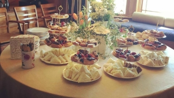 The Vintage Tea and Cake Company in Belmont Reopens Retail Shop