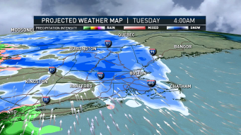 FIRST ALERT: Tuesday Morning Commuters May See Snow