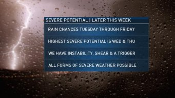 After Isolated Storms, Monday to Be Beautiful, Mild in New England