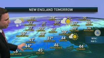 Rain and Clouds Exit, Sunny Sunday Ahead