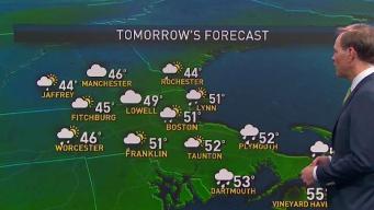 Chilly Night Ahead, Rain May Return Monday