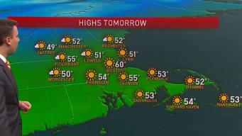 Perfect Fall Weather in Store for Sunday Football