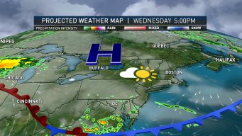 Warm Weather Wednesday, Storms Possible Later This Week