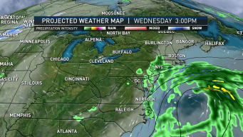 Typical October Weather Pattern Settles in Across New England