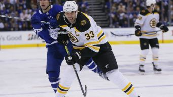 Chara 'Fine' After Getting Bloodied With Blocked Shot to the Arm