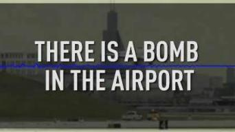 Exclusive Audio: Airport Bomb Threat Before EMT Stabbing
