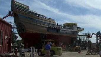 Mayflower II Restoration Nears Major Milestone: Returning to the Water