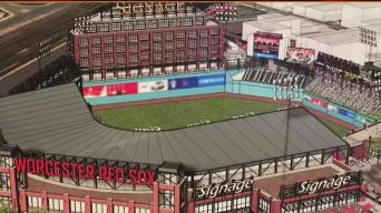 Worcester Breaks Ground on Stadium for Triple-A Team