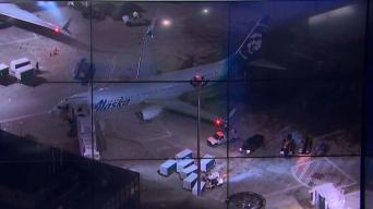 Plane Collides With De-Icing Truck at Boston Logan Airport
