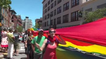 Maine Man Who Made 900-Foot Flag to March in Boston Pride Parade