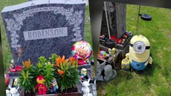 Sentimental Items Stolen From Child's Grave