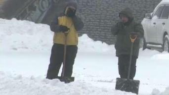 Worcester-Area Residents Put Shovels and Plows To Use