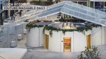Some Artists Banning Cellphones; 3D Printed House